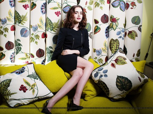 "Lily for ""The Times"" UK [July 2013]"