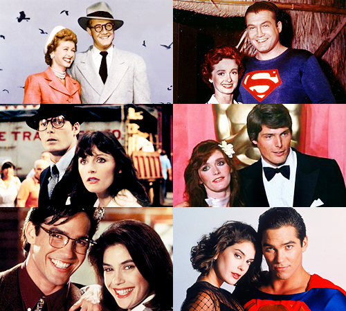 Lois&Clark through the years