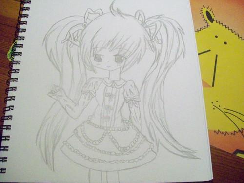 Lolita Girl Sketch