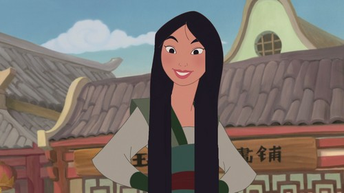 Long Hair Mulan