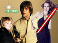 Luke, Mara and Ben Skywalker - star-wars fan art