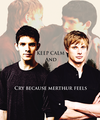 Luttuce All Crey bc Merthur - merlin-on-bbc fan art