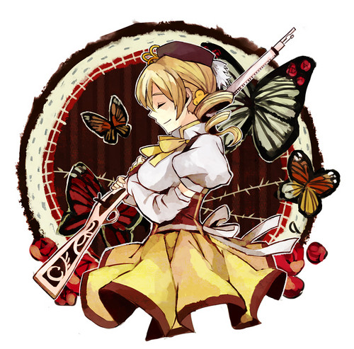 Mami and Butterflies