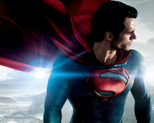 Superman Hintergrund called Man-of-Steel-Wallpaper
