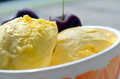 Mango Ice-Cream - ice-cream photo