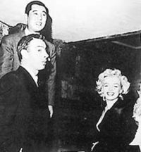 Marylin And seconde Husband, Joe DiMaggio