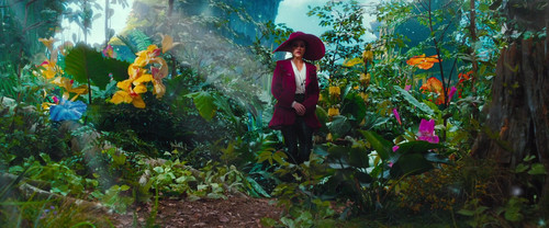 OZ: The Great and Powerful wallpaper probably containing a street called Meet Theodora, the Good