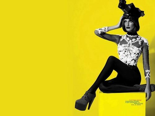 MelRose Bickerstaff on the June edition of Fashion Tv Magazine
