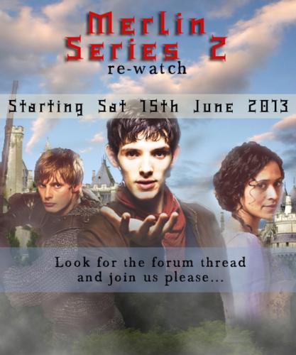 Merlin Series 2 Re-watch at Arthur/Gwen Club!
