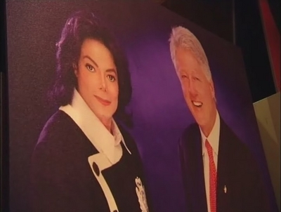 Michael And Former President, Bill Clinton