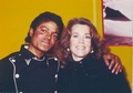Michael And Jane Fonda - michael-jackson photo