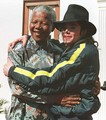 Michael And Nelson Mandela - michael-jackson photo