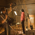 Michael In The Recording Studio - michael-jackson photo