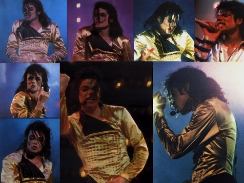 Michael Jackson wallpaper probably containing a concert called Michael Jackson History Tour