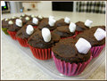 Mini Chocolate Cupcakes - chocolate photo