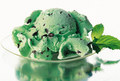 Mint Chocolate Chips Ice-Cream