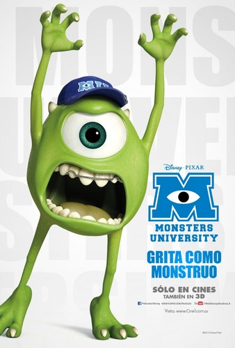 Monsters universitas posters