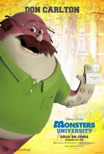 Monsters universiteit posters