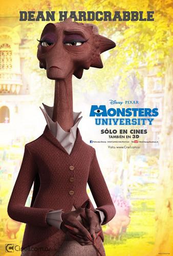 Monsters universidad posters