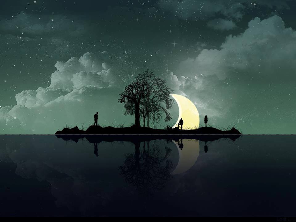pretty moon wallpapers - photo #13