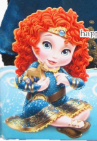 My First Deluxe Baby Merida Doll