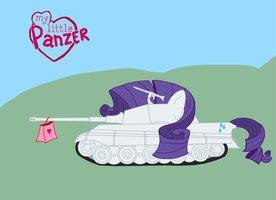 My Little blindado, panzer
