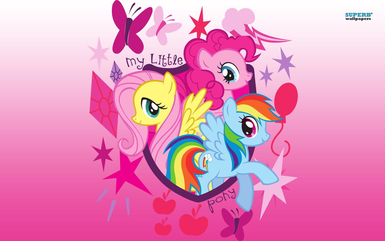 My Little kuda, kuda kecil kertas-kertas dinding