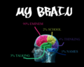 My brain - one-direction fan art
