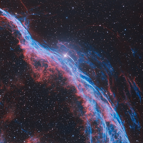 NGC 6960: The Witch's 扫帚 Nebula~