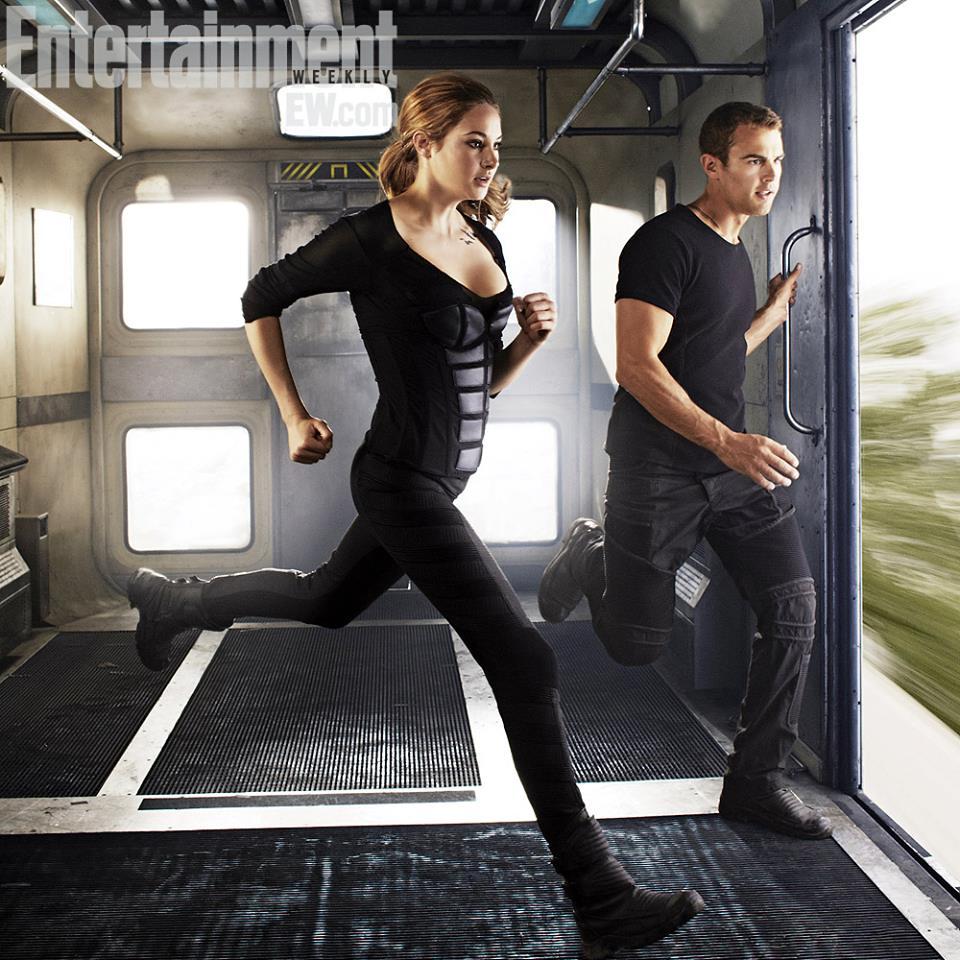 New Divergent stills from Entertainment Weekly - Divergent ...