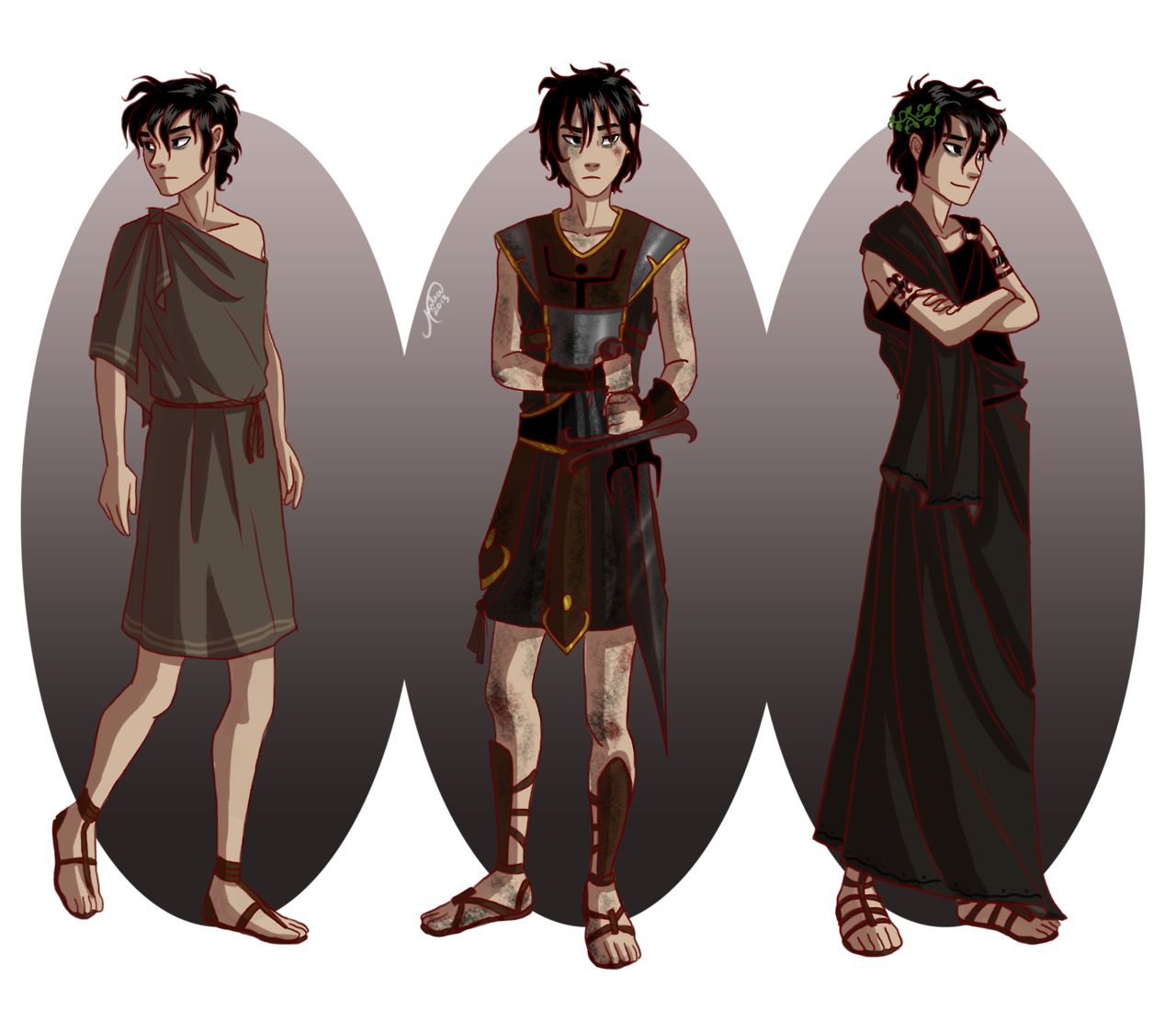 Heroes Of Olympus Characters Nico | www.imgkid.com - The ...