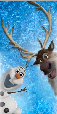 Frozen wallpaper called Olaf and Sven