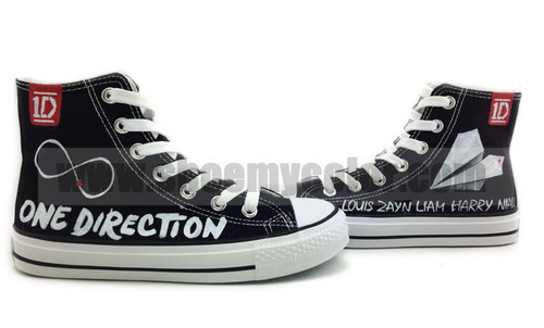 One Direction hand painted sneaker