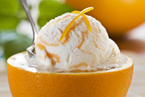Orange Ice-Cream - Colors Photo (34739578) - Fanpop