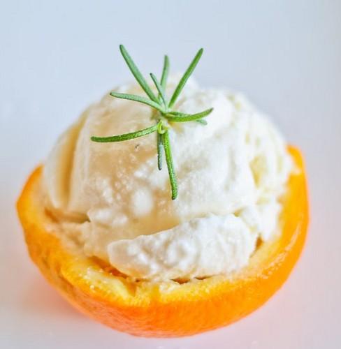 नारंगी, ऑरेंज आइस क्रीम
