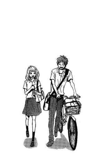 оранжевый (TAKANO Ichigo) Обои possibly with a велосипед entitled оранжевый