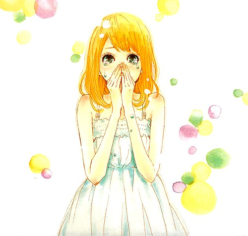 Orange (TAKANO Ichigo) wallpaper possibly containing a bouquet titled Orange