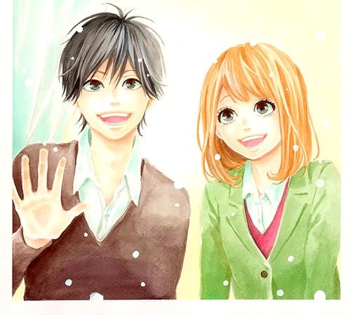 оранжевый (TAKANO Ichigo) Обои called оранжевый