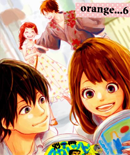 Orange (TAKANO Ichigo) wallpaper possibly with anime and a portrait called Orange