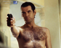PIERCE BROSNAN SHIRTLESS IN GOLDENEYE
