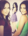 PLL - Spencer, Aria & Emily