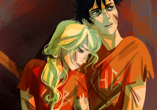 The Heroes of Olympus wallpaper possibly with anime called Percabeth