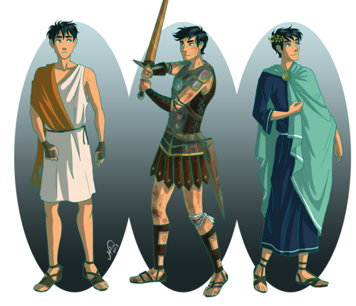 The Heroes of Olympus achtergrond containing a surcoat titled Percy