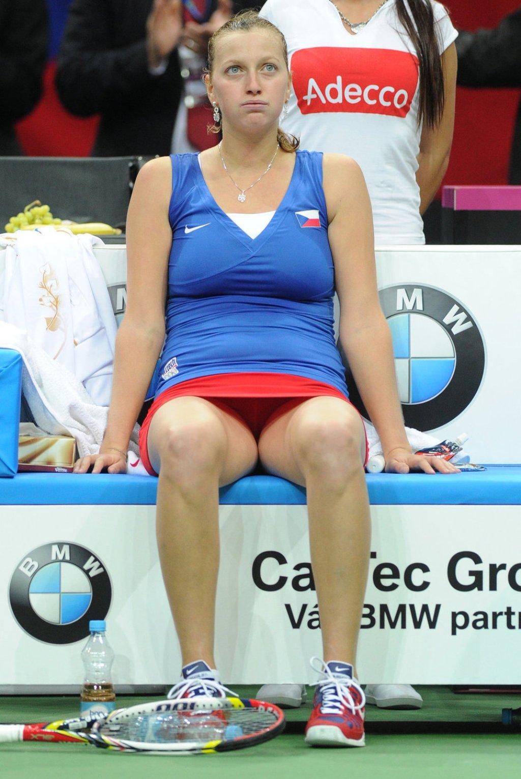 Petra Kvitova crotch 2013