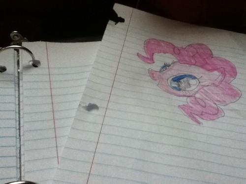 Pinkie Pie doodle