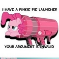 Pinkie Pie launcher - my-little-pony-friendship-is-magic photo
