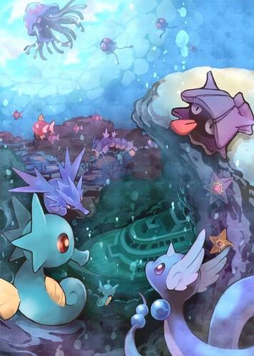 Pokémon landscapes