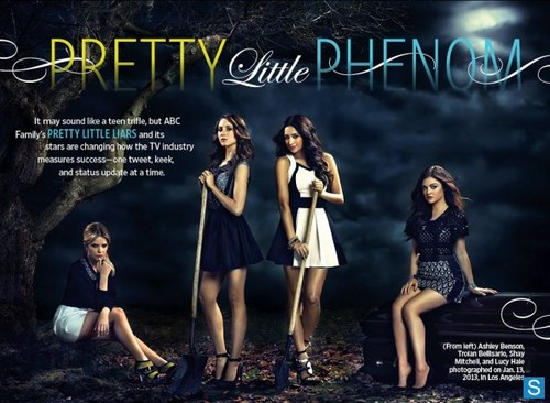 Pretty Little Liars - Season 4 - New EW Cast Promotional picha