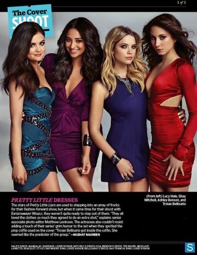Pretty Little Liars - Season 4 - New EW Cast Promotional các bức ảnh