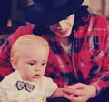 Prince Jackson and his father Michael Jackson ♥♥ - prince-michael-jackson fan art